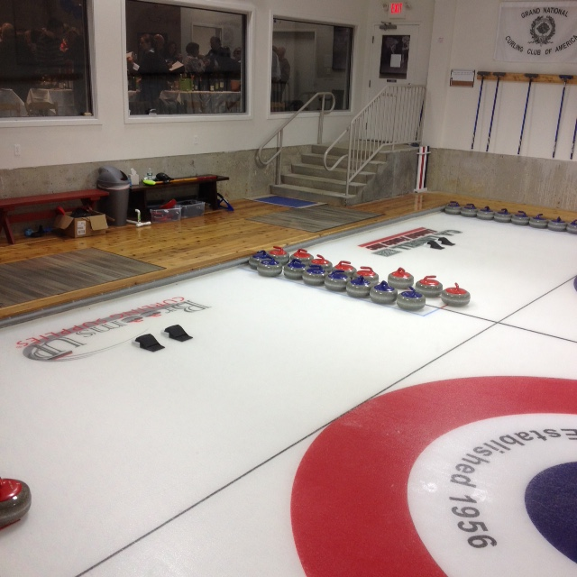 The Curling Ice Rink