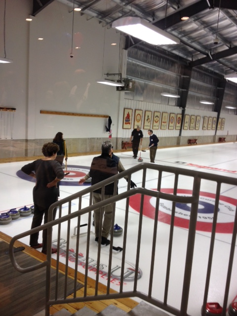 Learn to Curl at the Norfolk Curling Club