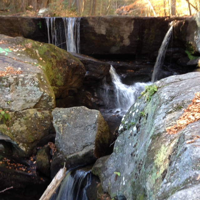 Waterfalls at Enders State Park