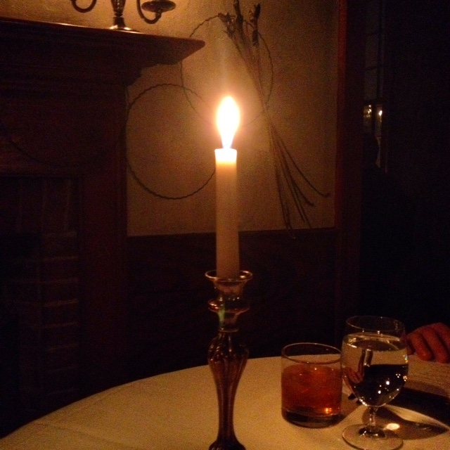 Candlelight dining-old inn