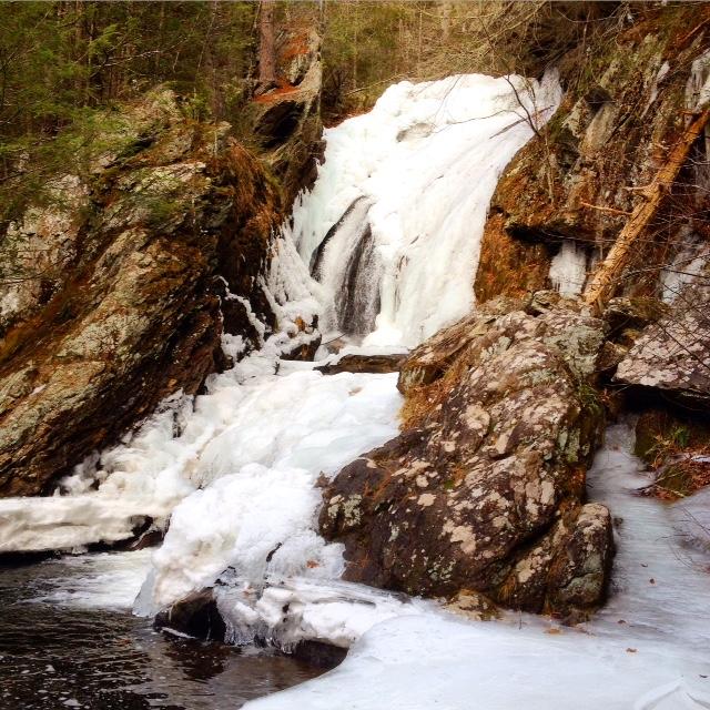 Frozen Campball Falls