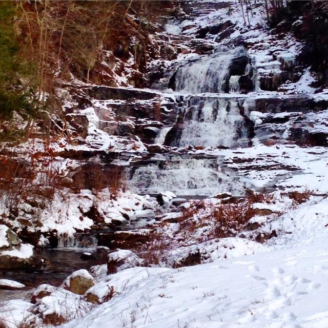 Waterfall at Kent Falls State Park