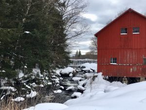 Buttermilk Falls Barn